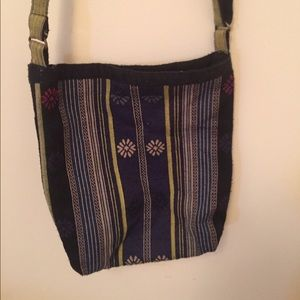 Patterned crossbody bag